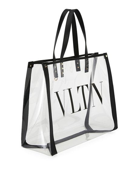 VLTN Grande Polymeric Tote Bag