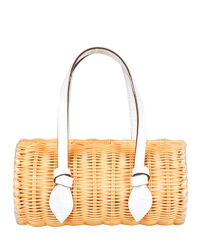 Rattan Mini Agatha Shoulder Bag