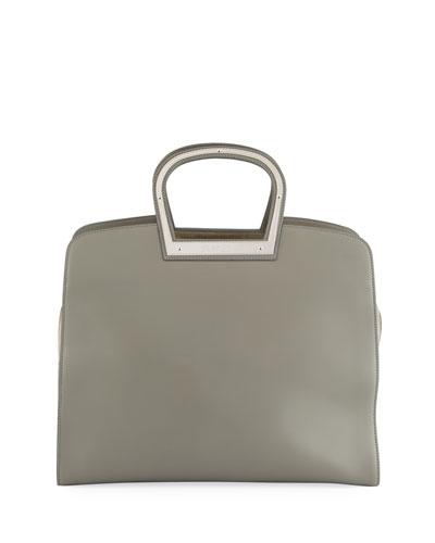 Horseshoe Leather Tote Bag