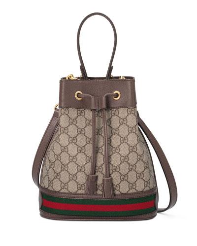 Ophidia Small GG Supreme Bucket Bag