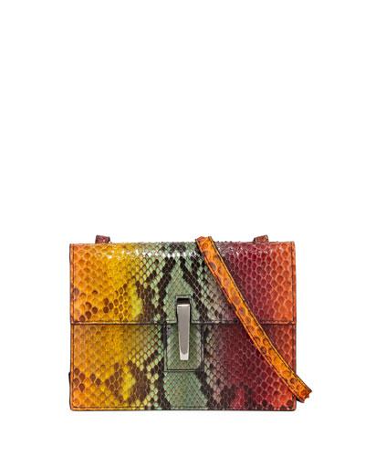 Soft Mini Python Clutch Bag