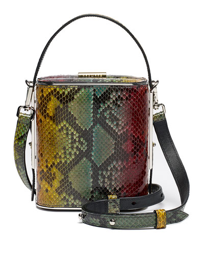 Field Python Top Handle Bag