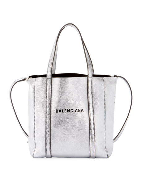 Image 1 of 1: Every Day XXS AJ Metallic Leather Tote Bag