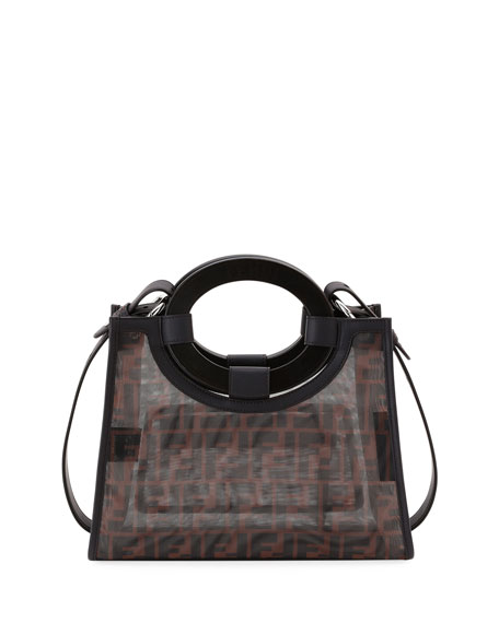 Runaway Small Mesh FF Shopping Tote Bag