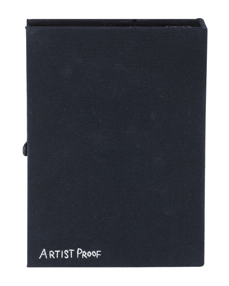 Basquiat Revenge Artwork Book Clutch Bag
