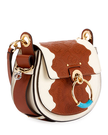 Tess Small Patchwork Satchel Bag