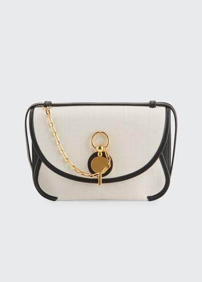 Key Medium Canvas Shoulder Bag