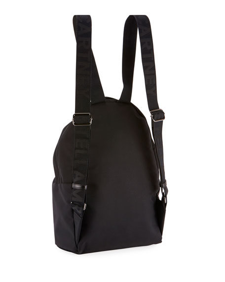 Falabella Nylon Zip Backpack