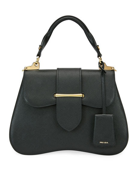 Image 1 of 1: Large Prada Sidonie Top Handle Tote