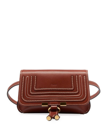 Image 1 of 1: Marcie Leather Bum Belt Bag
