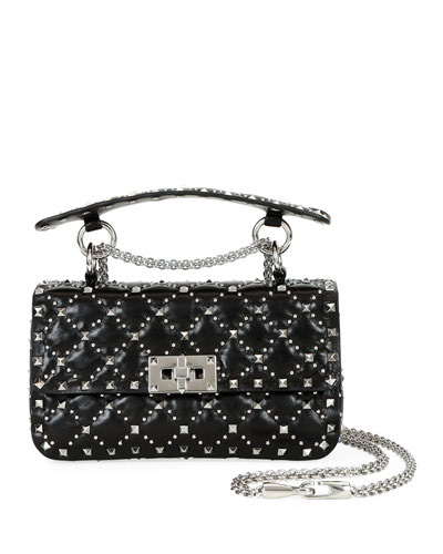 Spike.It Small Micro-Stud Shoulder Bag