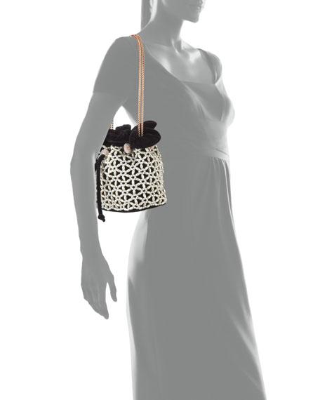 Emmie Velvet Drawstring Bag