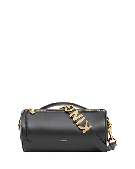 Kingdom Smooth Barrel Clutch Bag by Burberry