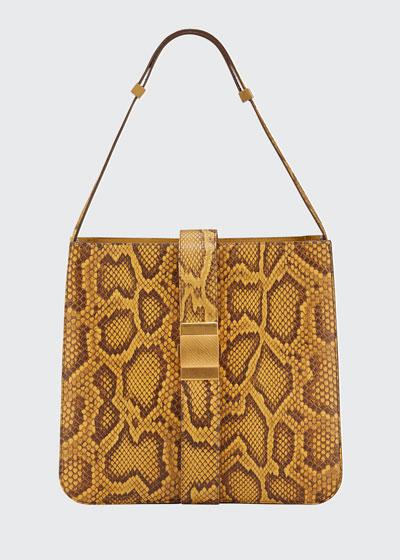 Marie Python Shoulder Bag