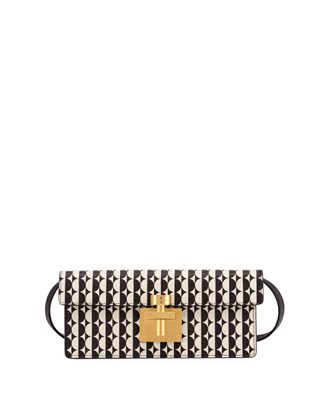 Image 1 of 1: New Alibi Two-Tone Clutch Bag
