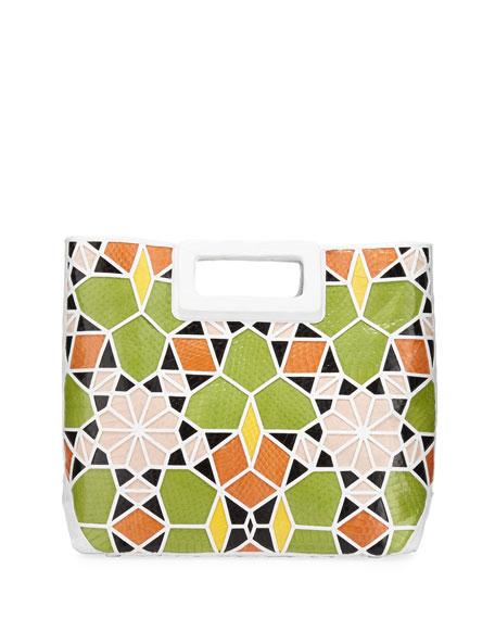 Dani Crocodile Patchwork Tote Bag