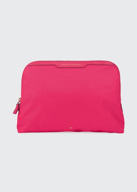 Lotions & Potions Cosmetics Bag, Hot Pink