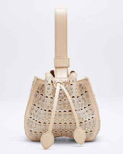 Rose Marie Mini Cuir Lux Vienne Bucket Bag