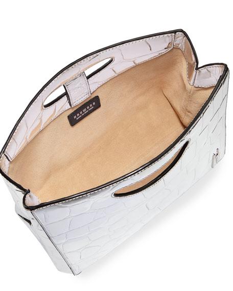 Medium Grand Shopper in Embossed Vegan Leather