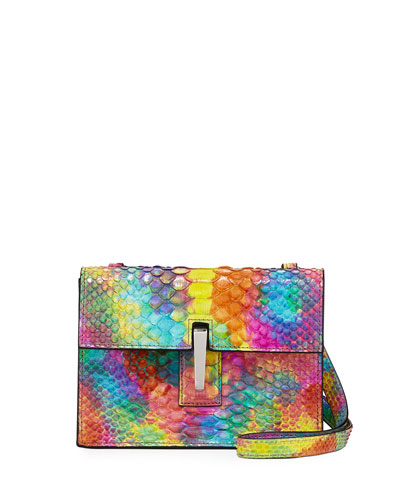 Mini Soft Python Clutch Bag