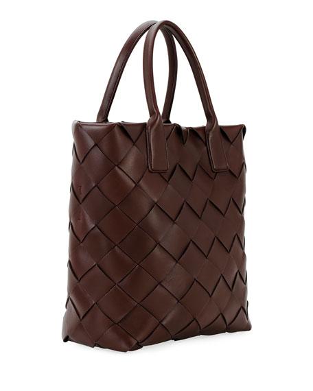 Intrecciato Wide Weave Tote Bag