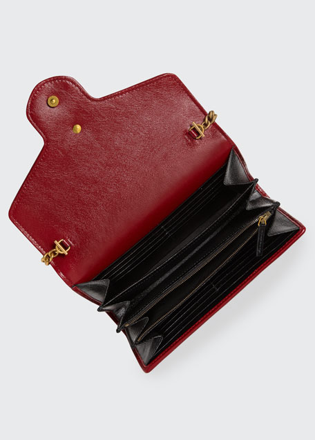 GG Marmont Torchon Wallet On Chain