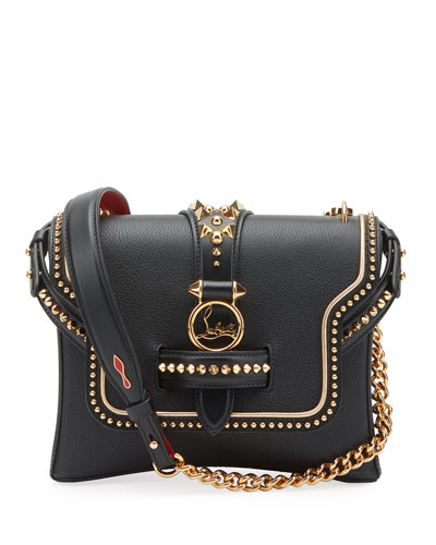 Rubylou Small Dallas Calf Empire Spikes Shoulder Bag