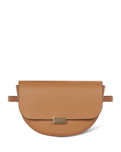 Anna Big Leather Belt Bag