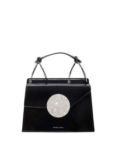 Phoebe Bis Patent Top Handle Bag