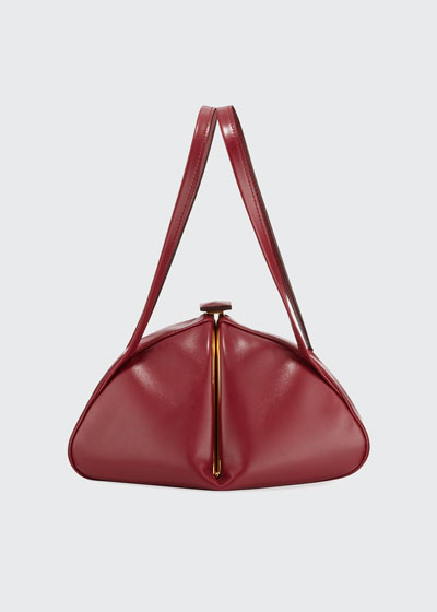 Calf Leather Top Handle Bag