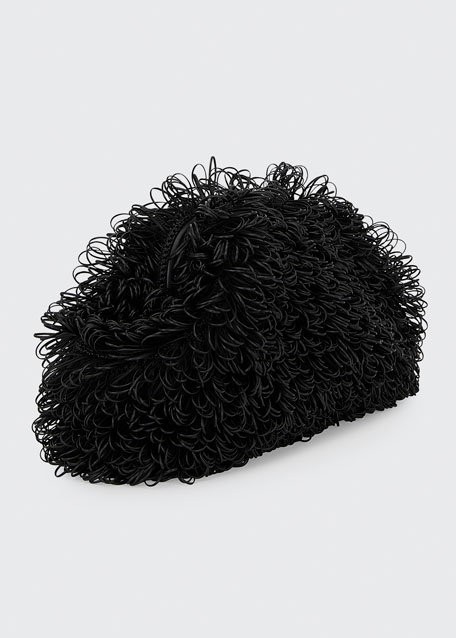 The Pouch Large Curly Clutch Bag
