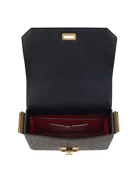 Eden Medium Ostrich Bag