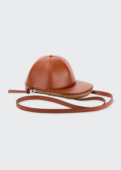Cap-Shaped Crossbody Bag