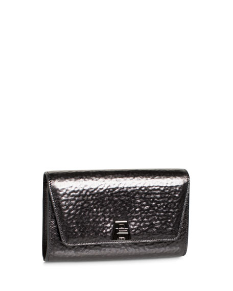 Anouk Hammered Leather Belt Bag