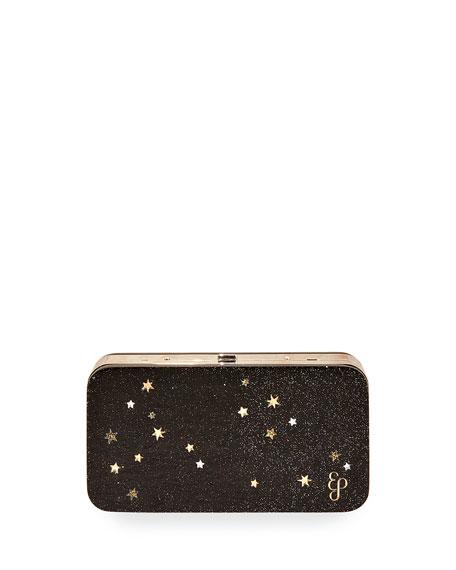 Glittered Acrylic Clutch Bag