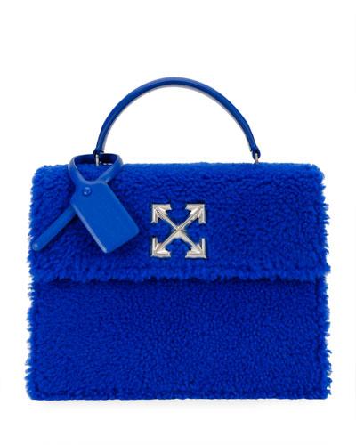 Montone Jitney 2.8 Fur Top Handle Bag
