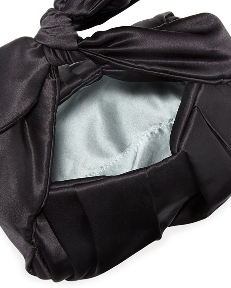 Nane Satin Top Handle Bag