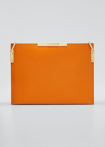 File C Leather Shoulder Bag