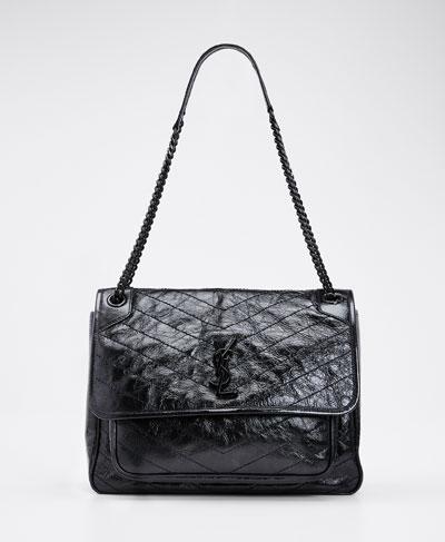 Niki Large Flap Shoulder Bag