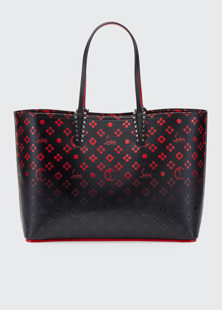 Cabata Loubinthesky Red Sole Tote Bag by Christian Louboutin