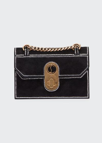 Elisa Mini Suede Strass Shoulder Bag