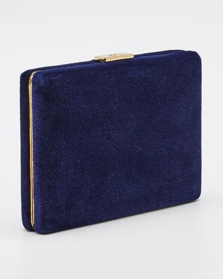 Velvet Card Case with Chain