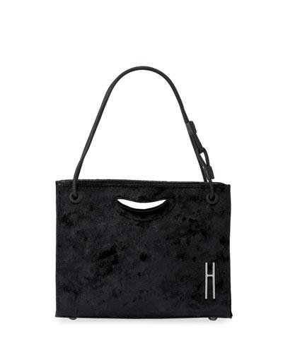 1712 Mini Velvet Basket Bag