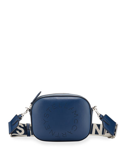 Faux-Leather Logo Belt Bag