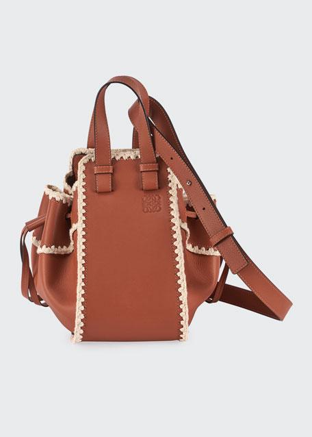 Hammock Crochet Leather Shoulder Bag