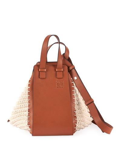 Hammock Cotton Knit Shoulder Bag
