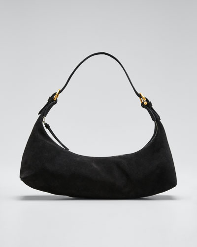 Mara Suede Shoulder Bag