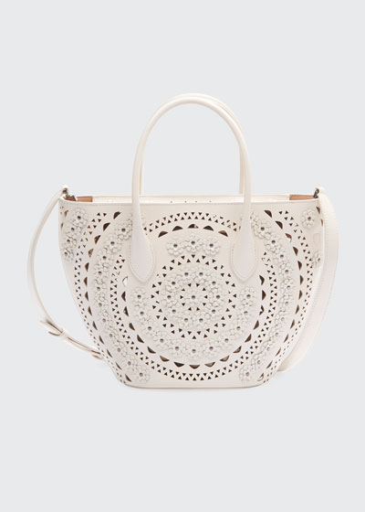 Latifa Mini Cuir Lux New Vienne Tote Bag