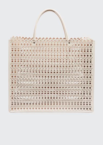 Garance Large Cuir Vienne Tote Bag