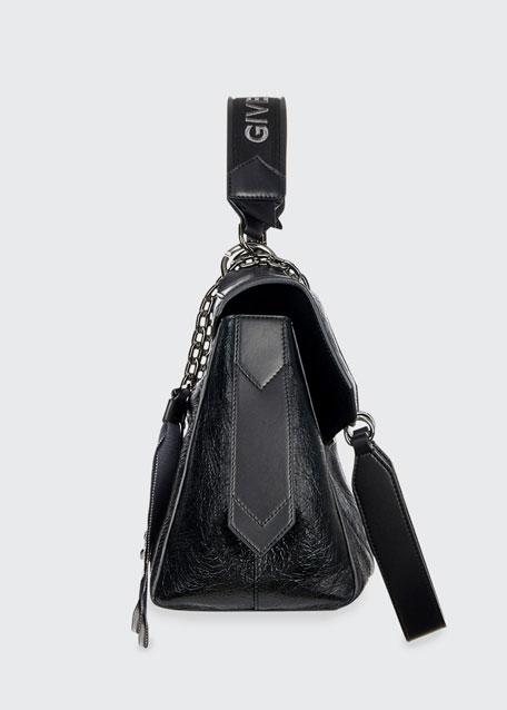 ID Medium Shiny Shoulder Bag